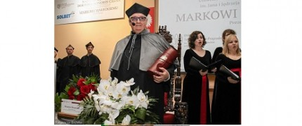 Given the Dignity of Doctor Honoris Causa to Chariman Marek Małecki